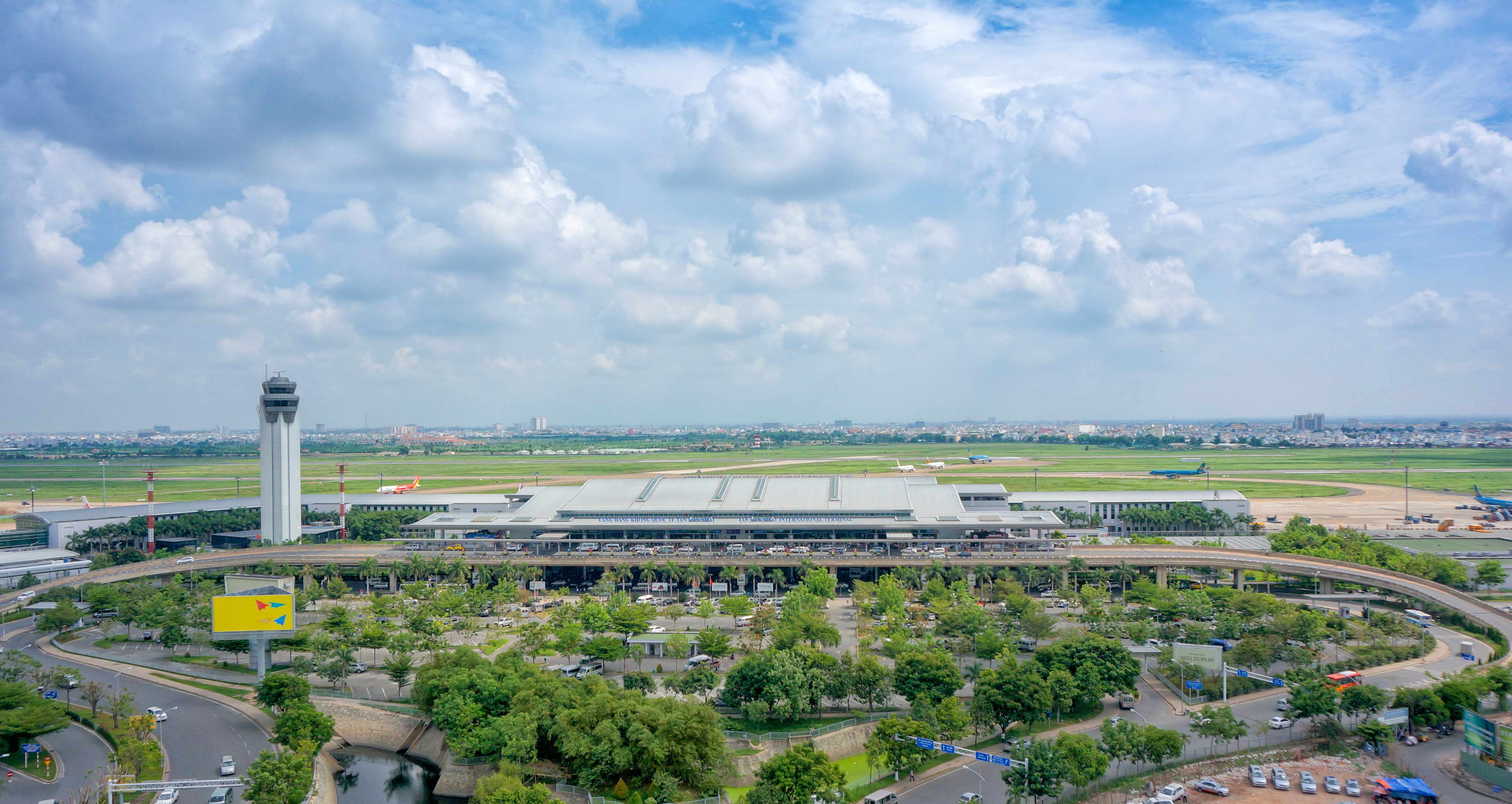 L'aéroport international de Tan Son Nhat