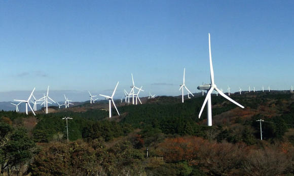 Hitachi wind turbine