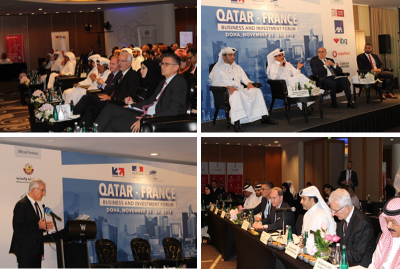 Forum d'affaires et d'investissement Qatar - France