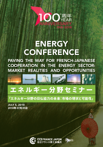"Séminaire ""Paving the way for French-Japanese cooperation in the energy sector"""