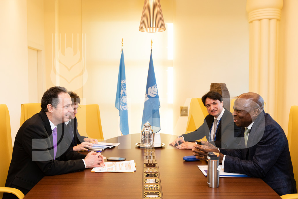 IFAD - French Governor and the President of IFAD