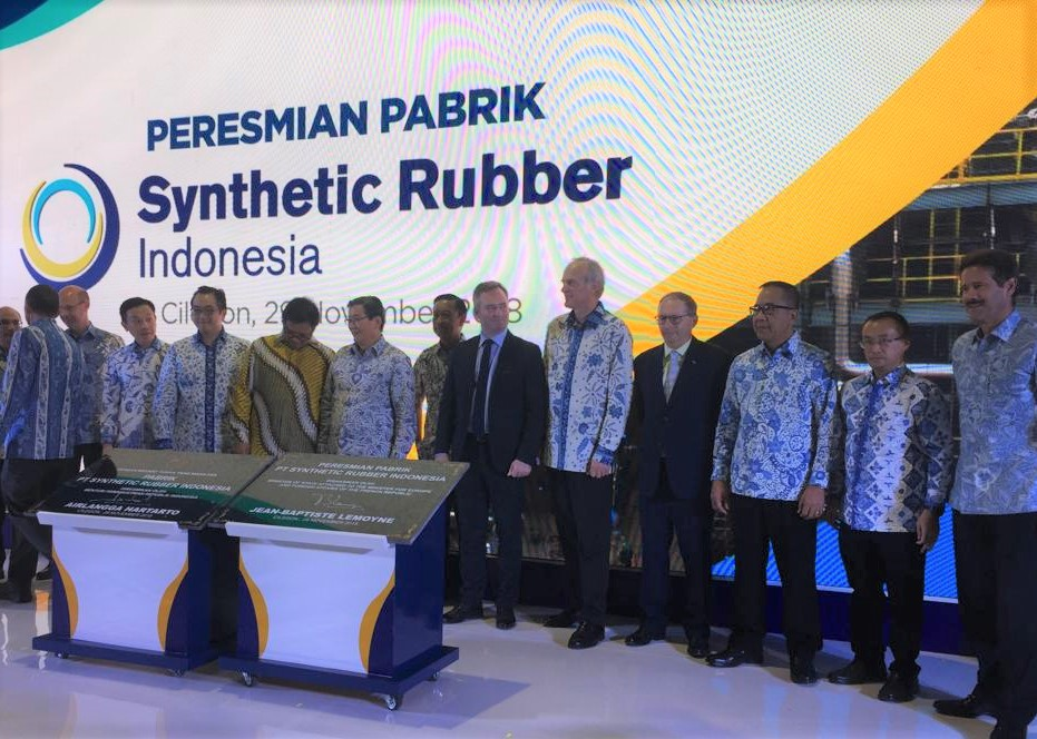 Synthetic Rubber Indonesia Michelin Barito PAcific Chandra Asri Petrochemicals