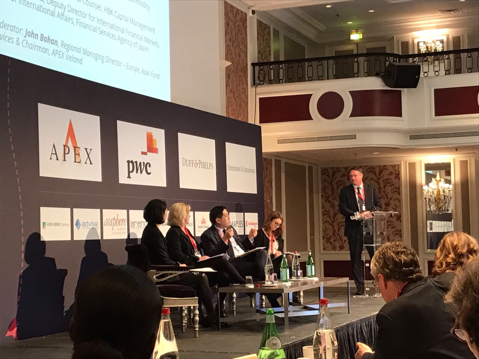 APEX Europe MD moderates the global outlook panel at @AIMA_org #GPRF2017