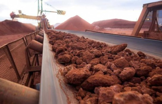Extraction de bauxite